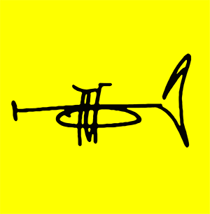 Gerald Chavis Music • Trumpeter Logo