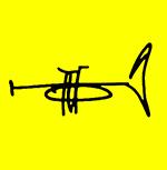 Gerald Chavis • Trumpeteer Logo